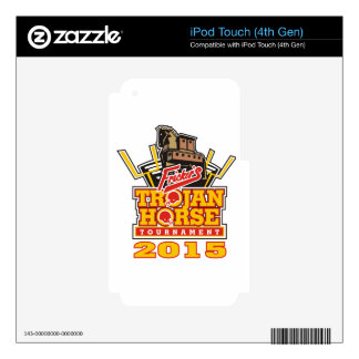 2015 Trojan Horse Logo Designs iPod Touch 4G Decal