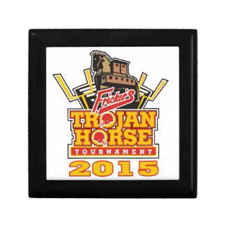 2015 Trojan Horse Logo Designs Jewelry Box