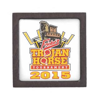 2015 Trojan Horse Logo Designs Keepsake Box