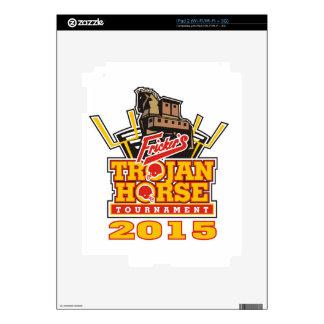 2015 Trojan Horse Logo Designs Skins For iPad 2