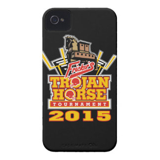 2015 Trojan Horse Logo (on darks) iPhone 4 Cover