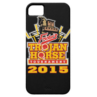 2015 Trojan Horse Logo (on darks) iPhone SE/5/5s Case