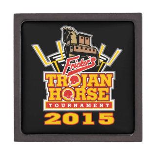 2015 Trojan Horse Logo (on darks) Jewelry Box