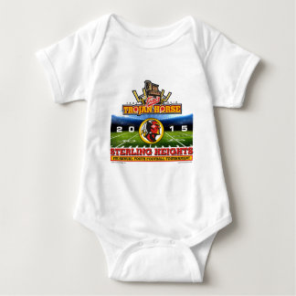 2015 Trojan Horse - Sterling Heights Redskins Baby Bodysuit