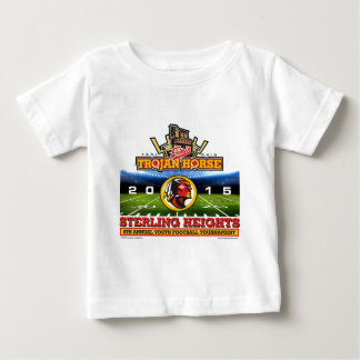 2015 Trojan Horse - Sterling Heights Redskins Baby T-Shirt