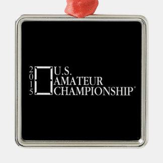 2015 U.S. Amateur Logo Metal Ornament