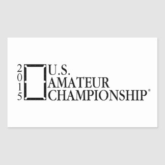 2015 U.S. Amateur Logo Rectangular Sticker