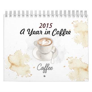 2015 un año en calendario del café