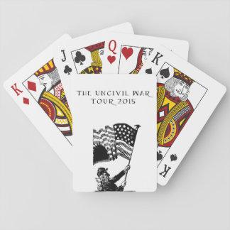 2015 Uncivil War Tour Playing Cards