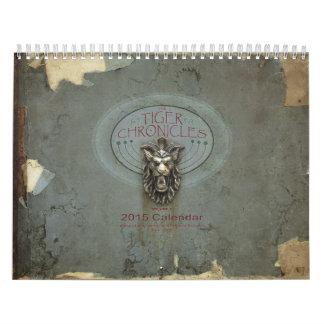 2015 Volume 2 Tiger Chronicles Calendar
