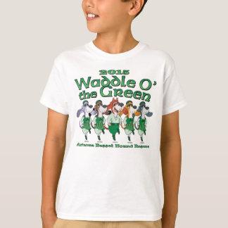 2015 Waddle O la camisa del niño verde