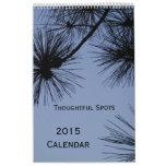 2015 Wall Calendar by Janz Thoughtful Spots