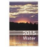 2015 Water (Vertical) Calendars