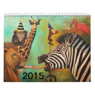 2015 Wild calander Wall Calendar