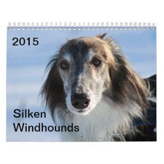 2015 Windhounds de seda Calendarios De Pared
