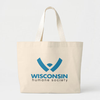 2015 Wisconsin Humane Society Logo Large Tote Bag