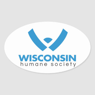 2015 Wisconsin Humane Society Logo Oval Sticker