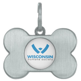 2015 Wisconsin Humane Society Logo Pet Name Tag