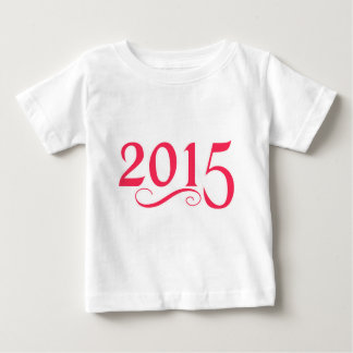 2015 With a Swirl Baby T-Shirt