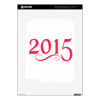 2015 With a Swirl Skin For iPad 3
