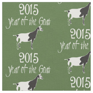 2015 Year of the Goat Alpine Dairy Goat Fabric