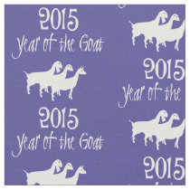 2015 Year of the Goat Dairy Goat Trio Fabric