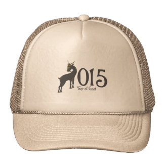 2015 Year of the Goat Trucker Hats