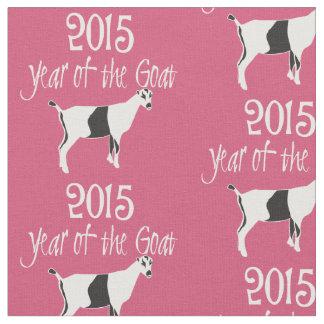 2015 Year of the Goat LaMancha Goat Fabric