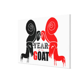 2015 Year of the Ram Sheep or Goat - Canvas