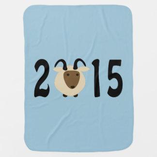 2015 - Year of the ram Stroller Blanket
