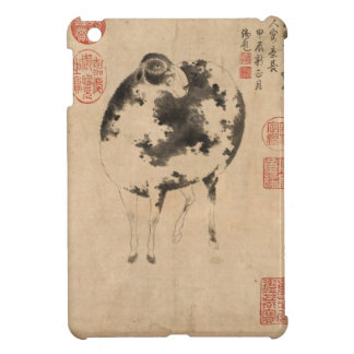 2015 Year of the Sheep & Goat -1- Chinese Painting iPad Mini Case