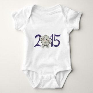 2015 Year of the Sheep/Goat/Ram Baby Bodysuit