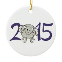 2015 Year of the Sheep/Goat/Ram Ornament