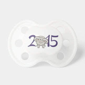 2015 Year of the Sheep/Goat/Ram Pacifier