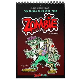 2015 Zombie Calendar