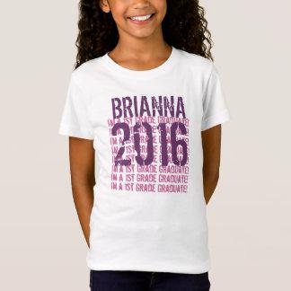 2016 1st Grade Graduate or ANY YEAR  Grade Gift 3 T-Shirt