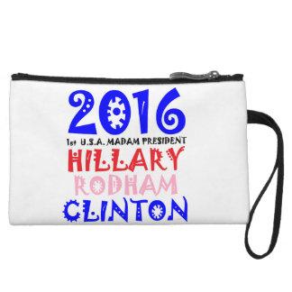 2016 1st U.S.A. Madam President Hillary R. Clinton Wristlet Purse