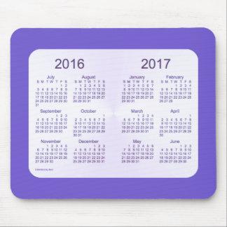 2016-2017 School Year Slate Blue Calendar by Janz Mouse Pad