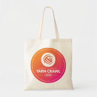 2016 2nd Annual North Alabama Yarn Crawl Tote Bag