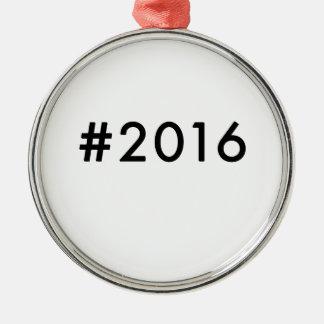 2016 ADORNO NAVIDEÑO REDONDO DE METAL