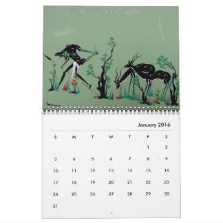 2016 African Tribal Art Calendar
