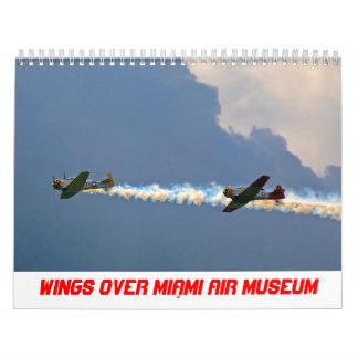 2016 alas sobre calendario del museo del aire de
