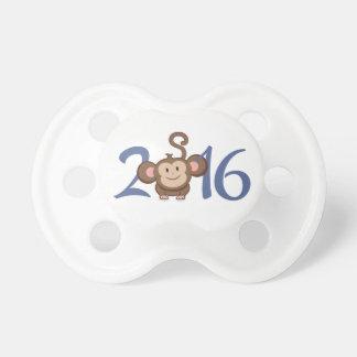 2016 años del mono chupetes para bebes