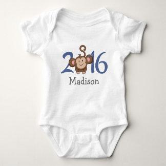 2016 años del mono (personalice la versión) remera