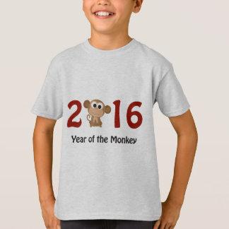 2016 años del mono playera