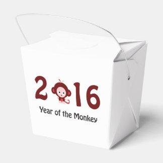 2016 años lindo del mono cajas para detalles de boda