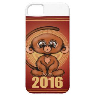 2016 años lindo del mono iPhone 5 carcasa