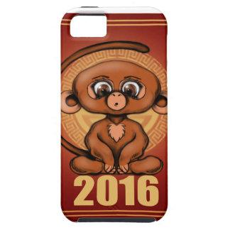 2016 años lindo del mono iPhone 5 funda