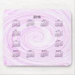 2016 Art Calendar Mouse Pad