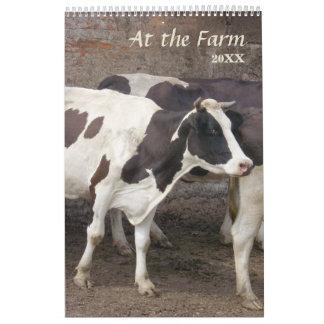2016 At The Farm Calendar